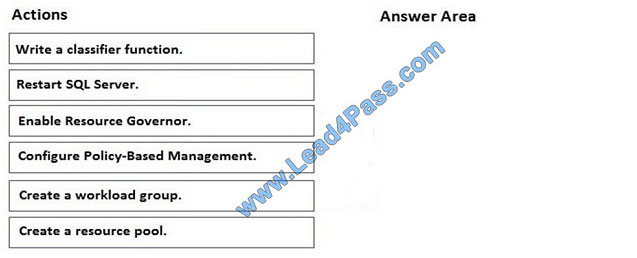 lead4pass 70-462 exam question q11