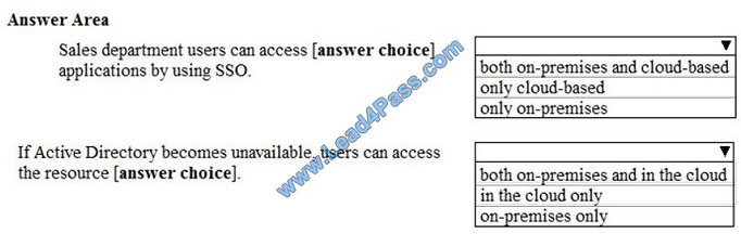 lead4pass ms-100 exam question q5-1